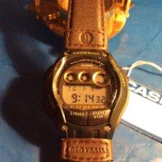 Relojes - Casio: RELOJ CASIO FT 111 H ¡¡ GEOTRAIL - PIEL,!! ¡¡NUEVO!! (VER FOTOS). Lote 145190150