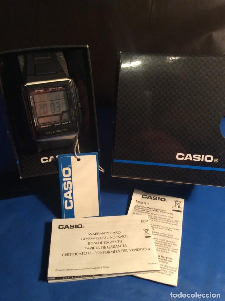 Relojes - Casio: RELOJ CASIO WV 59 E ¡¡ WAVE CEPTOR !! ¡¡NUEVO!! (VER FOTOS) - Foto 3 - 145194286