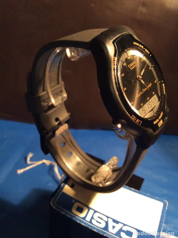 Relojes - Casio: RELOJ CASIO AW 34 ¡¡ MUY PLANO !! VINTAGE AÑOS 90 ¡¡NUEVO!! (VER FOTOS) - Foto 2 - 145198086
