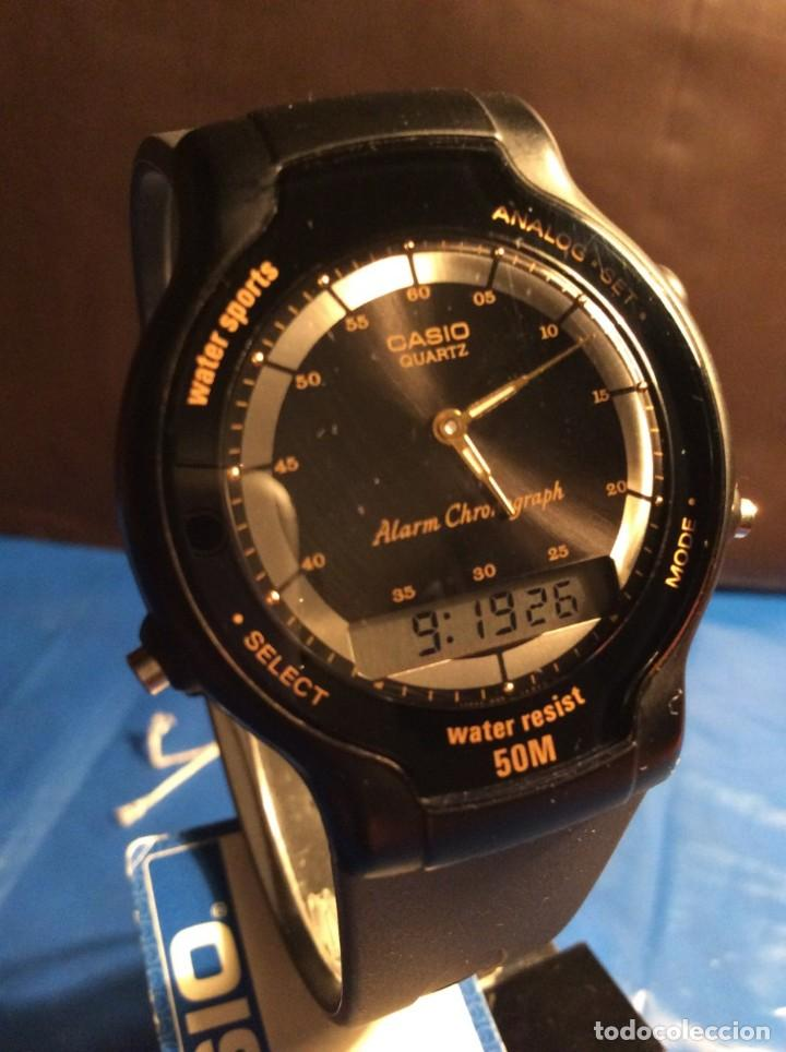 Relojes - Casio: RELOJ CASIO AW 34 ¡¡ MUY PLANO !! VINTAGE AÑOS 90 ¡¡NUEVO!! (VER FOTOS) - Foto 5 - 145198086