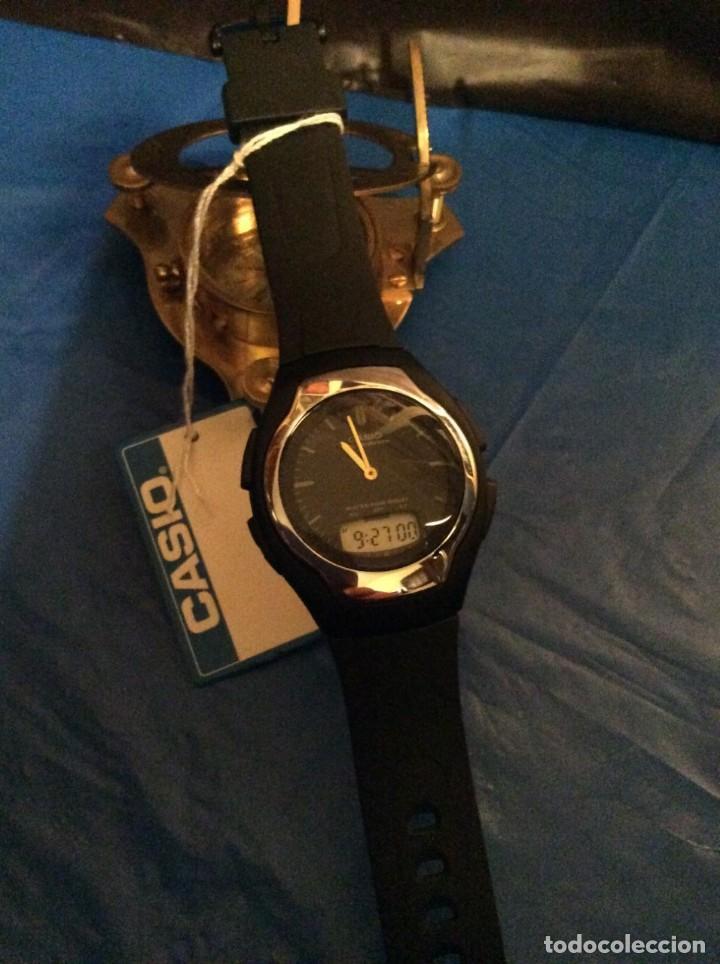 Relojes - Casio: RELOJ CASIO AW E10 ¡¡ MUY PLANO !! VINTAGE AÑOS 90 ¡¡NUEVO!! (VER FOTOS) - Foto 2 - 145198302