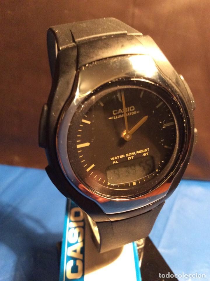Relojes - Casio: RELOJ CASIO AW E10 ¡¡ MUY PLANO !! VINTAGE AÑOS 90 ¡¡NUEVO!! (VER FOTOS) - Foto 3 - 145198302