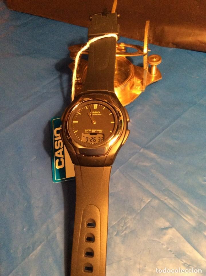 Relojes - Casio: RELOJ CASIO AW E10 ¡¡ MUY PLANO !! VINTAGE AÑOS 90 ¡¡NUEVO!! (VER FOTOS) - Foto 5 - 145198302
