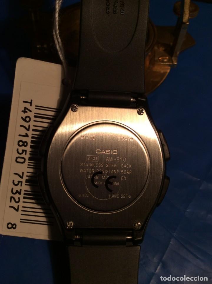 Relojes - Casio: RELOJ CASIO AW E10 ¡¡ MUY PLANO !! VINTAGE AÑOS 90 ¡¡NUEVO!! (VER FOTOS) - Foto 6 - 145198302