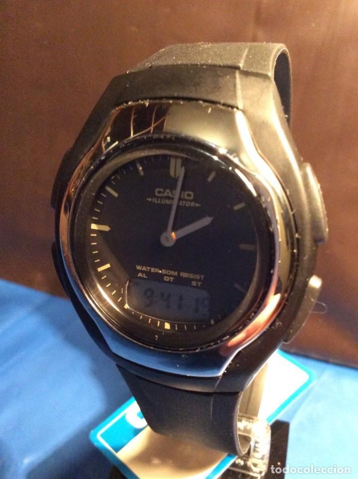 Relojes - Casio: RELOJ CASIO AW E10 ¡¡ MUY PLANO !! VINTAGE AÑOS 90 ¡¡NUEVO!! (VER FOTOS) - Foto 7 - 145198302