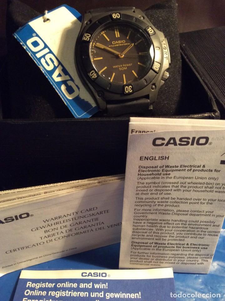 Relojes - Casio: RELOJ CASIO MW 58 ¡¡ ILUMINATOR VINTAGE AÑOS 90 !! ¡¡NUEVO!! (VER FOTOS) - Foto 3 - 145199550