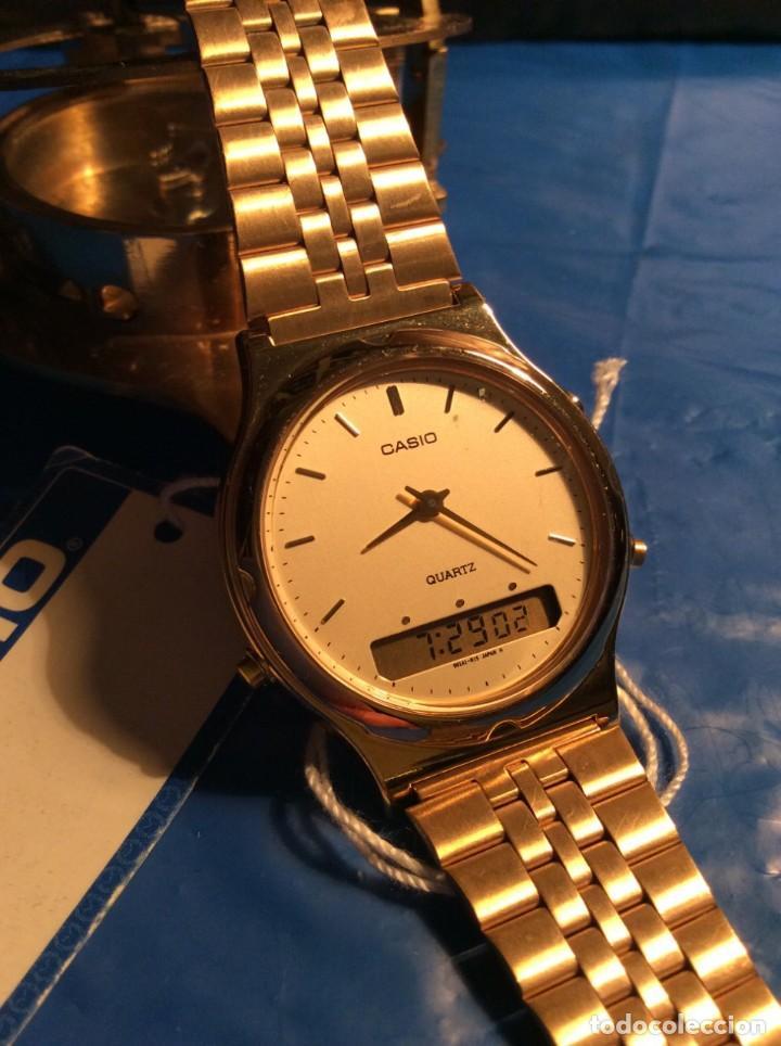 Relojes - Casio: RELOJ CASIO AQ 304 ¡¡ AUTENTICO VINTAGE AÑOS 80 !! ¡¡NUEVO!! (VER FOTOS) - Foto 2 - 211696998