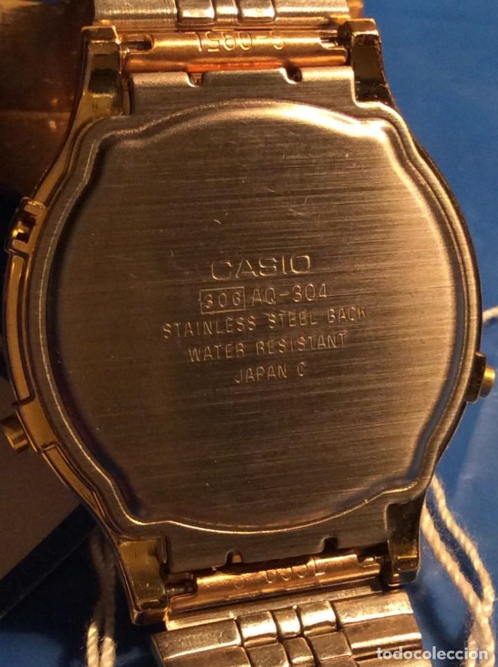 Relojes - Casio: RELOJ CASIO AQ 304 ¡¡ AUTENTICO VINTAGE AÑOS 80 !! ¡¡NUEVO!! (VER FOTOS) - Foto 7 - 211696998