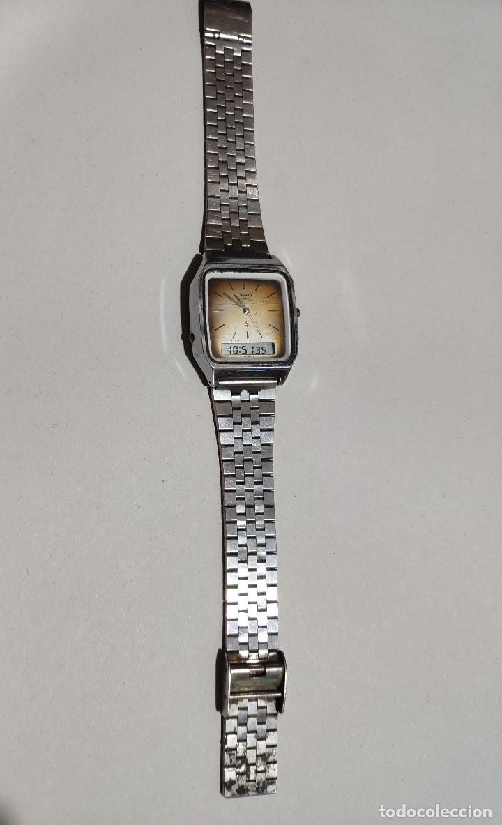 RELOJ CASIO DIGITAL Y ANALOGICO 309 - AQ-321 QUARTZ. (Relojes - Relojes Actuales - Casio)
