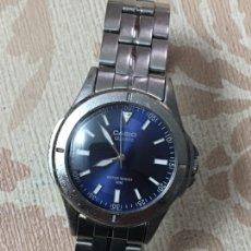 Relojes - Casio: RELOJ CASIO QUARTZ ESFERA AZUL PARA CABALLERO. Lote 147156550
