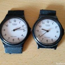 Relojes - Casio: **LOTE DE DOS ESFERAS DE RELOJ, --- CASIO --- PARA PIEZAS NO SE SI FUNCIONAN**. Lote 147597818