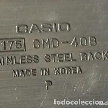 Relojes - Casio: Reloj vintage original CASIO calculadora - 1175 CMD 40B.FUNCIONANDO. Traído de Japón. Ver abajo - Foto 3 - 112729519