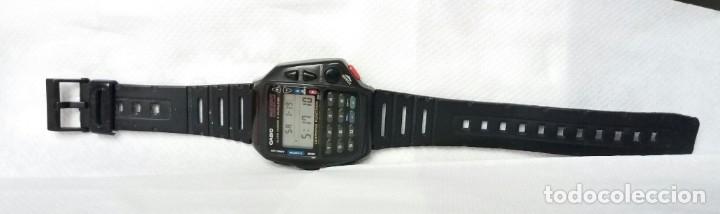 Relojes - Casio: Reloj vintage original CASIO calculadora - 1175 CMD 40B.FUNCIONANDO. Traído de Japón. Ver abajo - Foto 2 - 112729519
