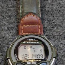Relojes - Casio: CASIO TELEMEMO 30, ILUMINATOR, WATER RESIST 50M - DB-34H 1600. Lote 222102987