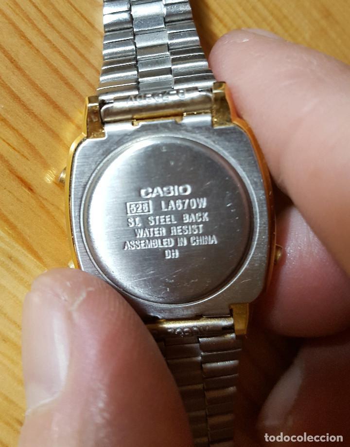 Señora De Niño Reloj La670w Casio Dorado v8n0mNw