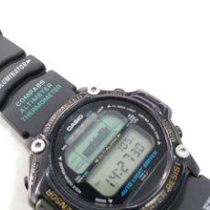 Relojes - Casio: RELOJ CASIO PRT-20 MÓDULO 1525 PRO TREK VINTAGE -JAPAN- CORREA ORIGINAL CON BRÚJULA. Lote 149464258