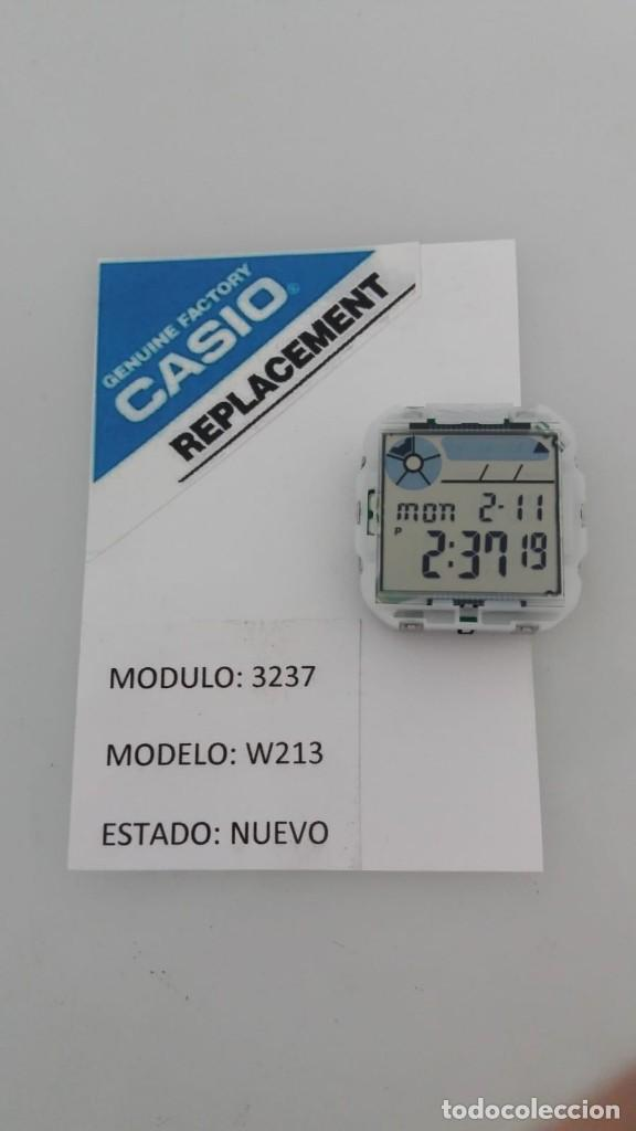 CASIO MODULO 3237 MODELO W-213 (Relojes - Relojes Actuales - Casio)