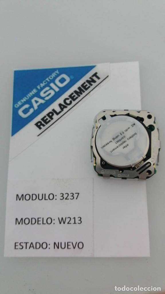 Relojes - Casio: CASIO MODULO 3237 MODELO W-213 - Foto 2 - 150790886