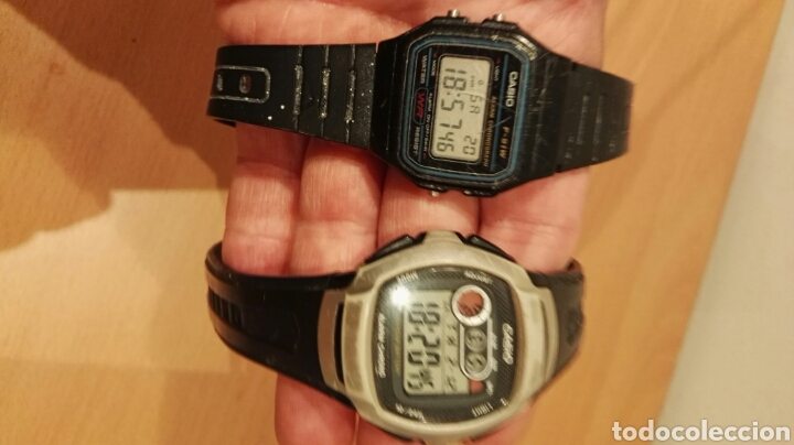 LOTE CASIO W-210 Y F-91W (Relojes - Relojes Actuales - Casio)
