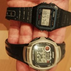Relojes - Casio: LOTE CASIO W-210 Y F-91W. Lote 150986561