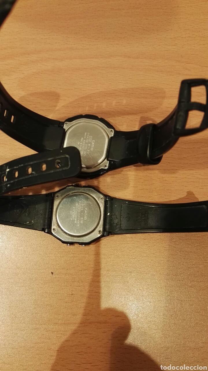 Relojes - Casio: Lote Casio w-210 y F-91w - Foto 2 - 150986561