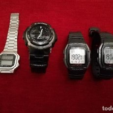 Relojes - Casio: LOTE DE RELOJES CASIO. Lote 151156366