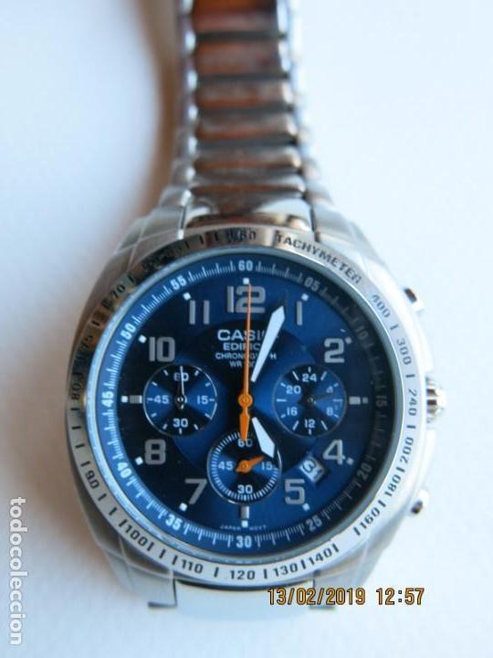 55c4ed7ab3f8 reloj cronógrafo movimiento de cuarzo casio mod - Comprar Relojes ...
