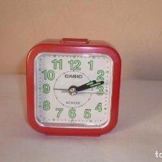 Relojes - Casio: RELOJ DESPERTADOR CASIO FUNCIONANDO CORRECTAMENTE. Lote 151309970
