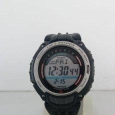 Relojes - Casio: RELOJ CASIO PEDOMETER SGW-200 MODULO 3166. Lote 151386818