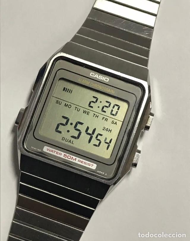 Vintage Casio 75 Made Japan In Ws Alarm Reloj Chronograp pzMUVS
