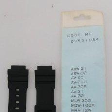 Relojes - Casio: CASIO CORREA ARW-32 NOS NEW NUEVA MADE IN JAPAN. Lote 152560394