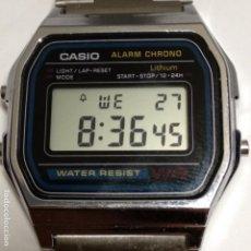 Relojes - Casio: CASIO 593 A158W RELOJ DIGITAL MADE IN CHINA. Lote 152961158