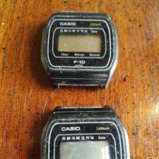 Relojes - Casio: 2 CASIO F-10. Lote 154115822