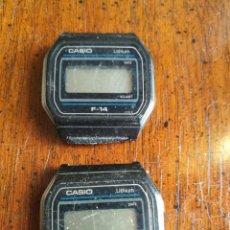 Relojes - Casio: 2 CASIO F-14. Lote 154116514