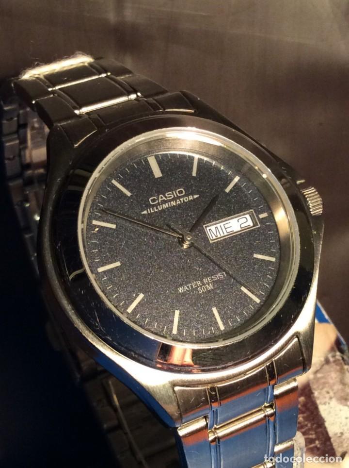 ef47e9aca071 reloj casio mtp 3038 acero iluminator ¡vintage! - Comprar Relojes ...
