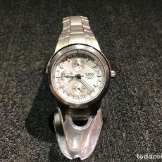 Relojes - Casio: RELOJ DE PULSERA CASIO EDIFICE TITANIUM EF 305 T - FUNCIONANDO - 9 FOTOS. Lote 154203394