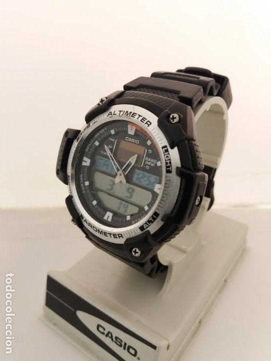 c9989dce6fe Relojes - Casio  RELOJ CASIO ALTIMETRO BAROMETRO TERMOMETRO