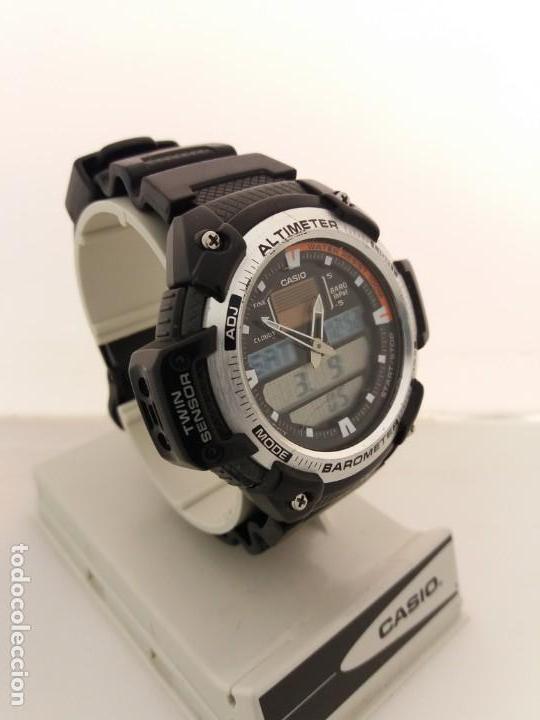 Barometro Reloj 400 Casio TermometroSgw Altimetro WHY2Ie9ED