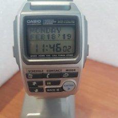 Relojes - Casio: RELOJ CABALLERO (VINTAGE) CASIO MODULO 1910 - BZX - 20 DE ACERO CON CORREA DE ACERO ORIGINAL CASIO. Lote 154666066