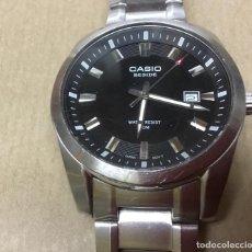 Relojes - Casio: PRECIOSO RELOJ CASIO BESIDE CUARZO GRAN DIÁMETRO. Lote 154988854