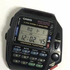 Relojes - Casio: RELOJ VINTAGE CASIO CMD-40 ALARM CHRONOGRAP & CALCULATOR TV/VIDEO COMO NUEVO JAPAN. Lote 155031022