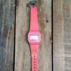 Relojes - Casio: RELOJ DE PULSERA CASIO MODELO F-91 W ROSA. Lote 155099402