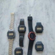 Relojes - Casio: LOTE DE 6 RELOJES CASIO.. Lote 155579598