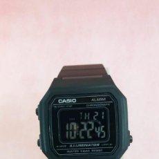 Relojes - Casio: RELOJ CASIO B650 NEGRO INVERTIDO MODULO 3454 NOS, NEW, NUEVO. Lote 156041082