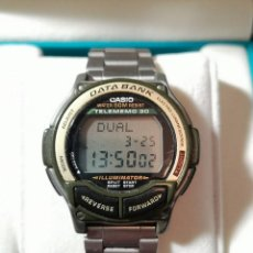 Relojes - Casio: RELOJ CASIO DB-34H TELEMEMO 30 DATA BANK. Lote 157254006