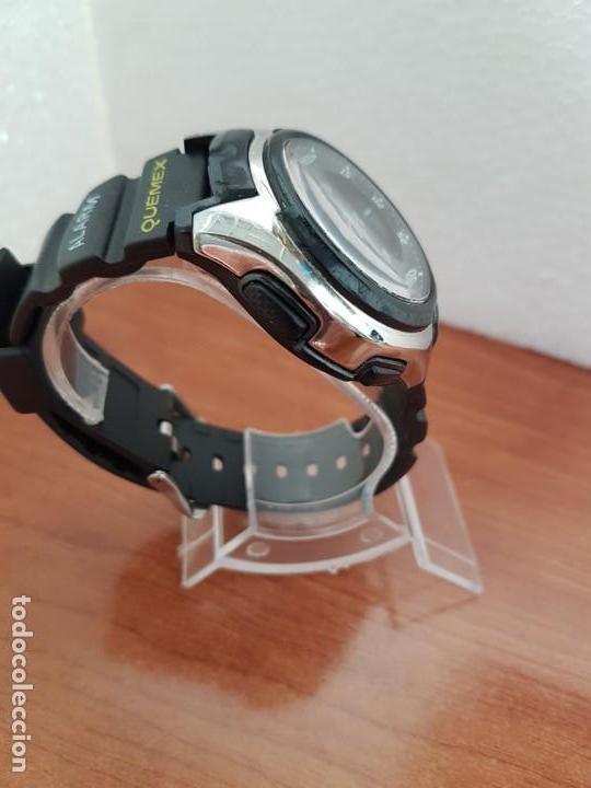 Relojes - Casio: Reloj caballero de cuarzo CASIO, modulo 3368 – AQ-163, caja de silicona y acero, correa de silicona - Foto 6 - 158133478