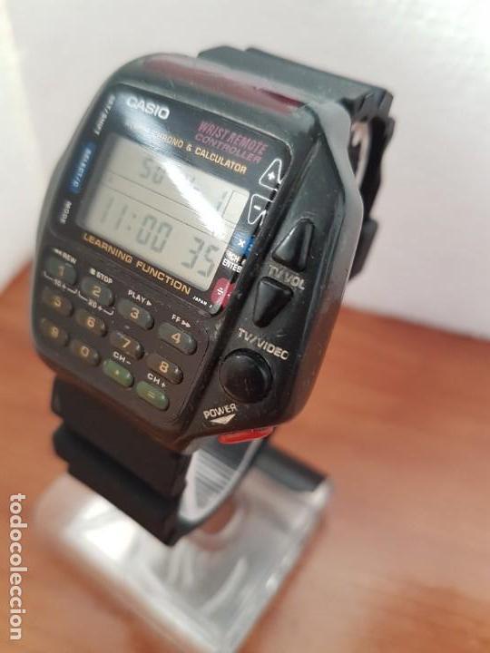 Relojes - Casio: Reloj caballero (Vintage) CASIO digital cuarzo, 1174. CMD-40 con correa silicona no original nueva - Foto 2 - 158229422