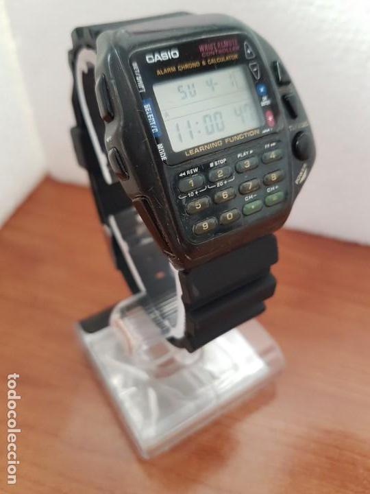 Relojes - Casio: Reloj caballero (Vintage) CASIO digital cuarzo, 1174. CMD-40 con correa silicona no original nueva - Foto 3 - 158229422