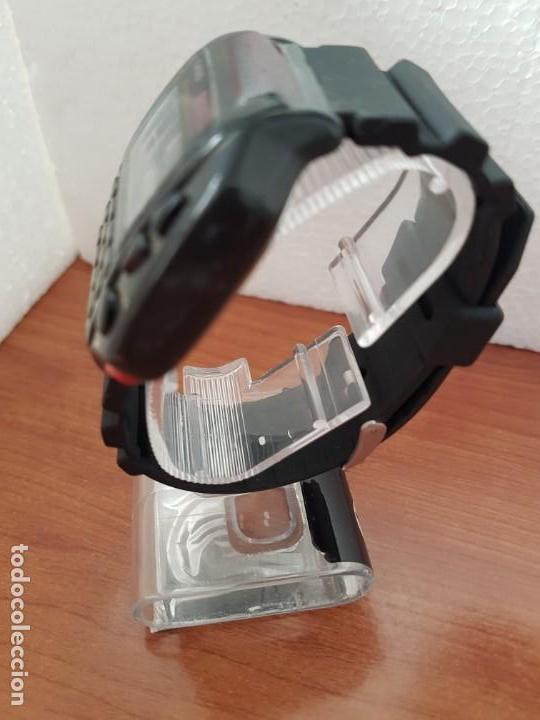Relojes - Casio: Reloj caballero (Vintage) CASIO digital cuarzo, 1174. CMD-40 con correa silicona no original nueva - Foto 4 - 158229422