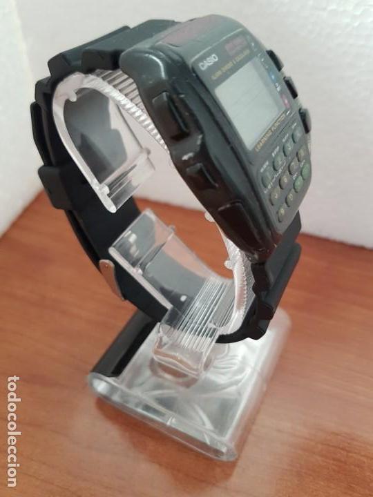 Relojes - Casio: Reloj caballero (Vintage) CASIO digital cuarzo, 1174. CMD-40 con correa silicona no original nueva - Foto 5 - 158229422